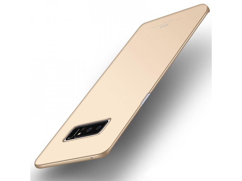 Plastový kryt pre Samsung Galaxy Note 8 (N950F) - zlatý lesklý
