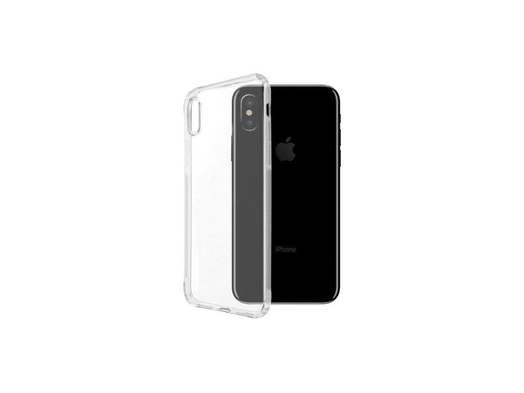 Silikónový kryt pre iPhone X - priesvitný (clear)