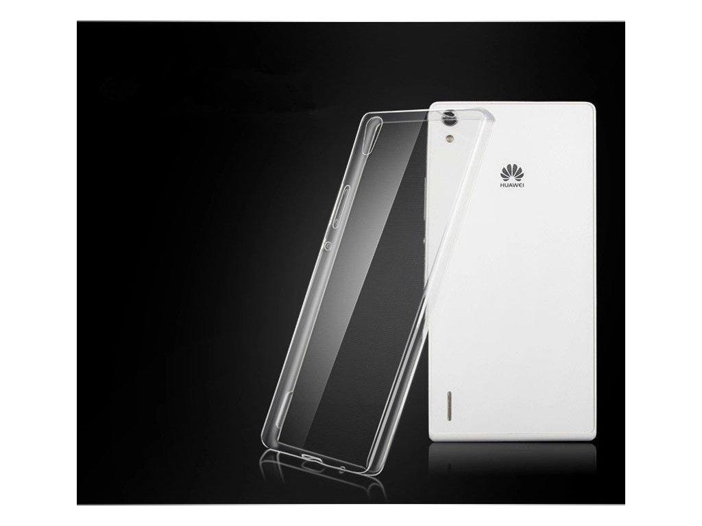 Silikónový kryt (obal) pre Huawei P7 - clear (priesvitný)
