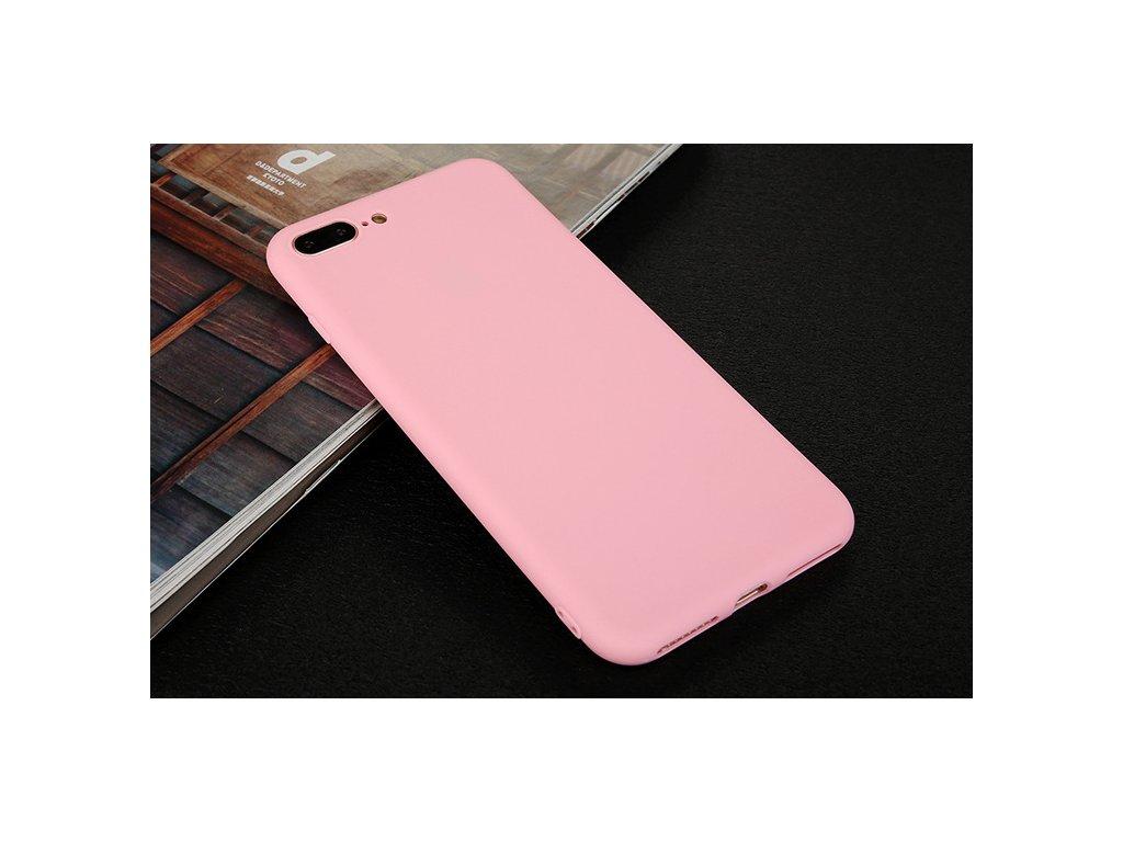 Silikónový kryt pre iPhone 7+/8+ (PLUS) - ružový
