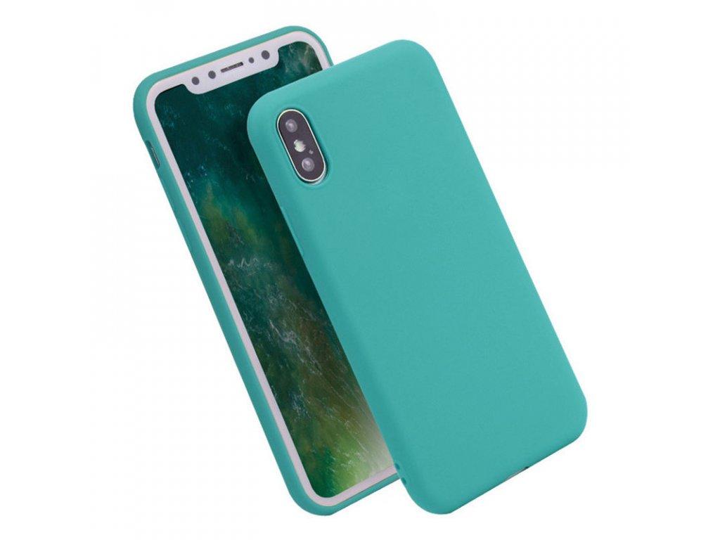 Silikónový kryt (obal) pre iPhone X - light blue (sv. modrý)