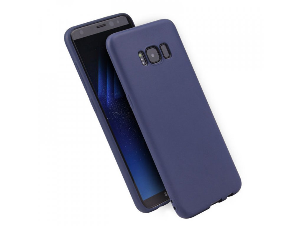 Silikónový kryt na Samsung Galaxy Note 8 (N950F) - tmavo modrý