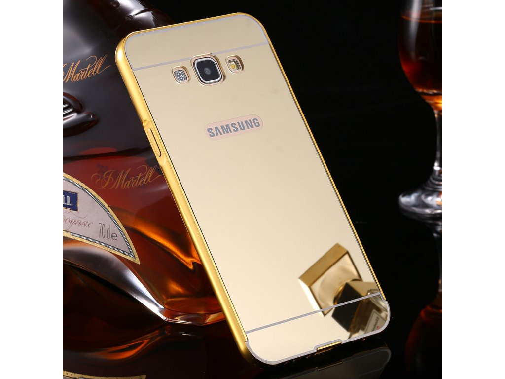 Hliníkový kryt pre Samsung Galaxy A5 (A500F) - zlatý  cc319a11f67