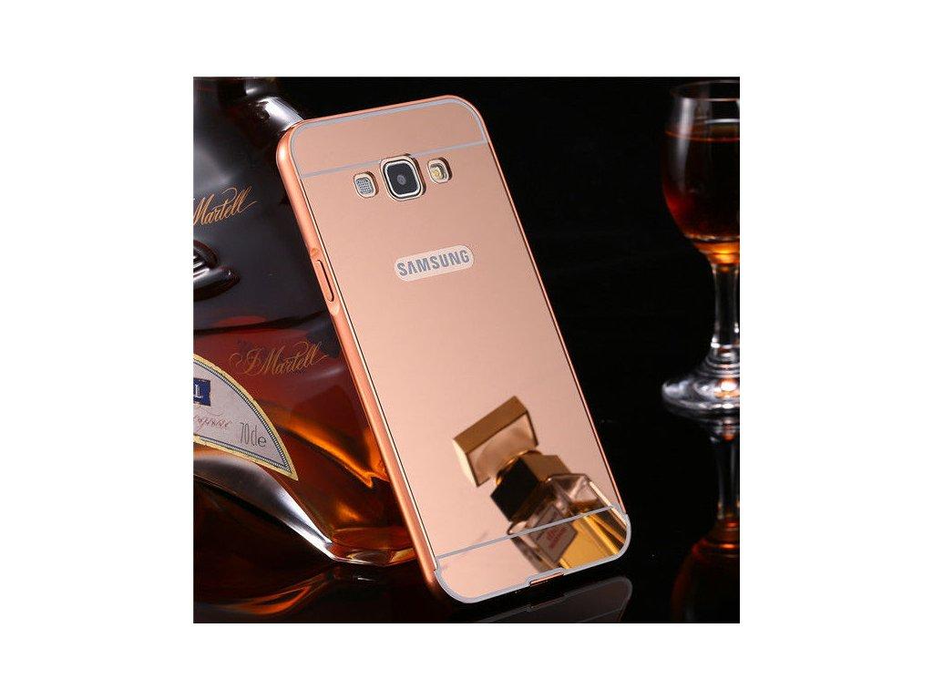 Hliníkový kryt pre Samsung Galaxy A5 (A500F) - rose gold