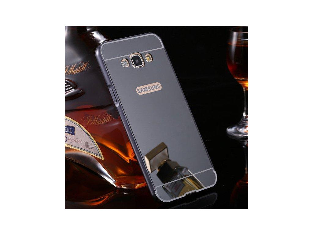 Hliníkový kryt pre Samsung Galaxy A3 (A300F) - čierny