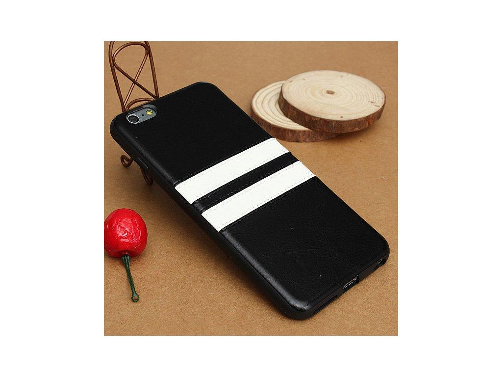 iPhone 6+/6S+ - zadný kryt (obal) - black (čierny)