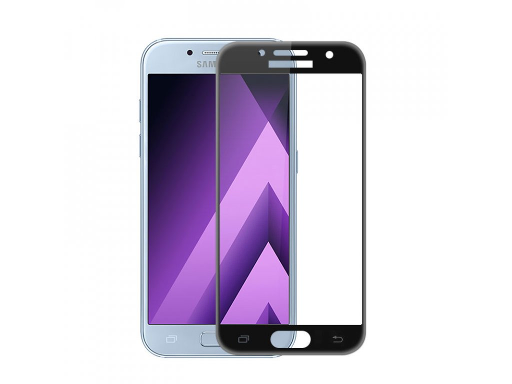 3D tvrdené sklo pre Samsung Galaxy A5 2017 (A520F) - čierne