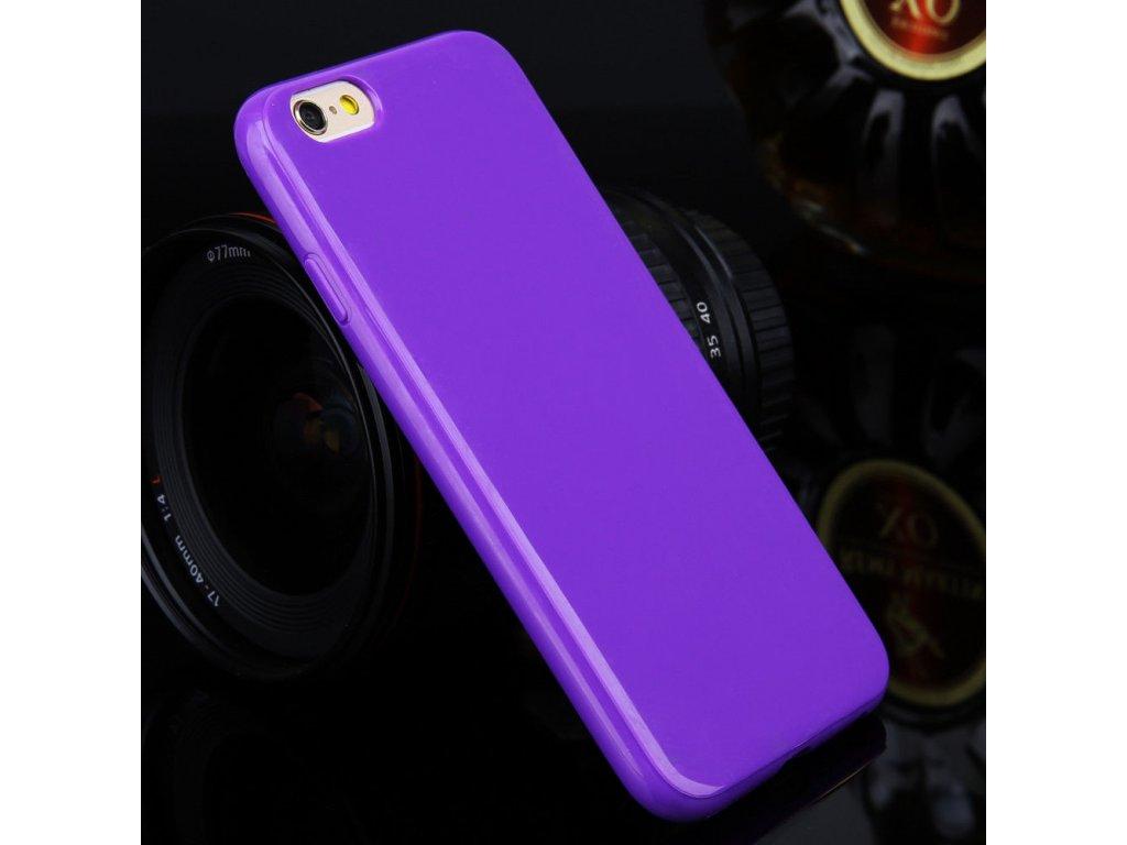 Silikónový kryt (obal) pre Samsung Galaxy Note 4 (N910) - fialový