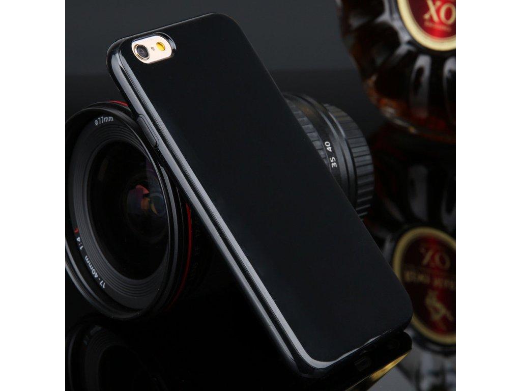 Silikónový kryt na Samsung Galaxy Alpha čierny