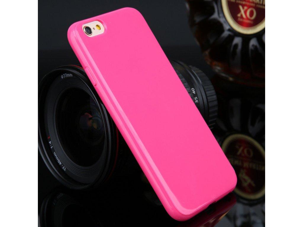 Silikónový kryt (obal) pre Samsung Galaxy Alpha (G850F) - tm. ružový
