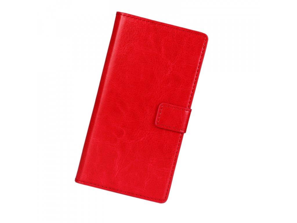 Flip Case (puzdro) pre Huawei P9 Lite 2017 - červené (red)