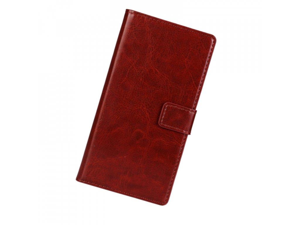Flip Case (puzdro) pre LG G6 - hnedé (brown)