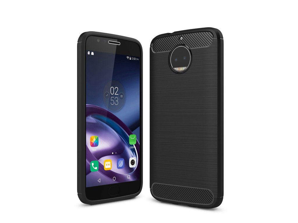 Silikónový kryt (obal) pre Lenovo (Motorola) Moto G5S - black (čierny)