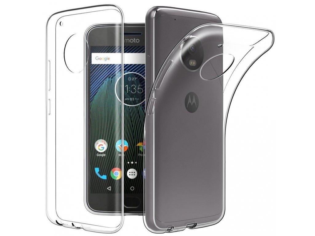 Silikónový kryt (obal) pre Lenovo (Motorola) Moto G5S+ (PLUS) - clear (priesvitný)