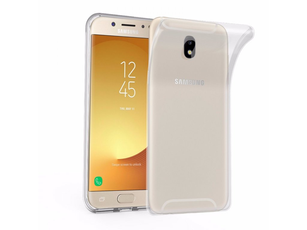 Silikónový kryt (obal) pre Samsung Galaxy J3 2017 (J330F) - priesvitný 8281d30ecc6