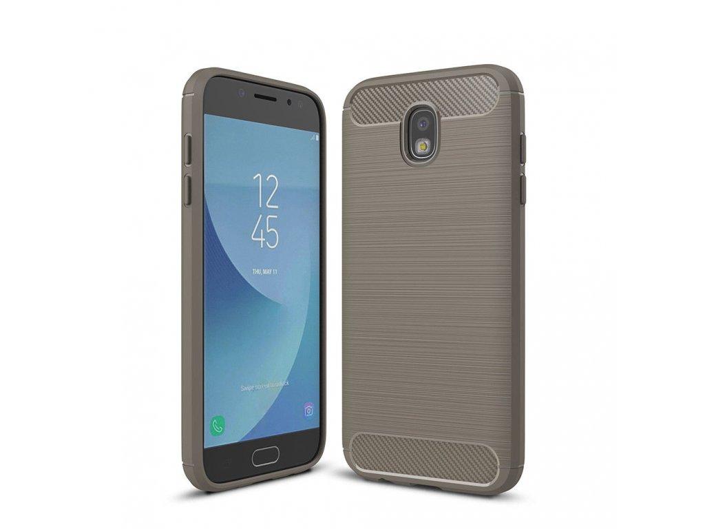 Silikónový kryt (obal) pre Samsung Galaxy J3 2017 (J330F) - šedý