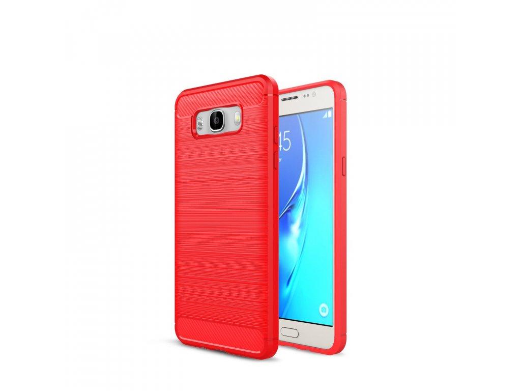 Silikónový kryt (obal) pre Samsung Galaxy J5 2016 (J510F) - červený