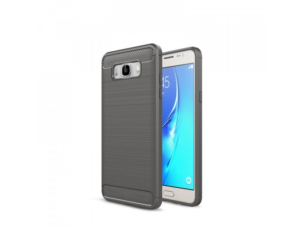 Silikónový kryt (obal) pre Samsung Galaxy J5 2016 (J510F) - šedý