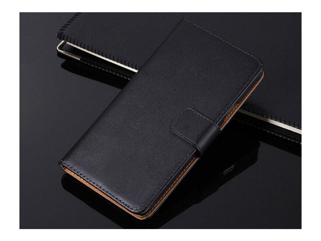 Flip Case (puzdro) pre Huawei Honor 9 - black (čierne)