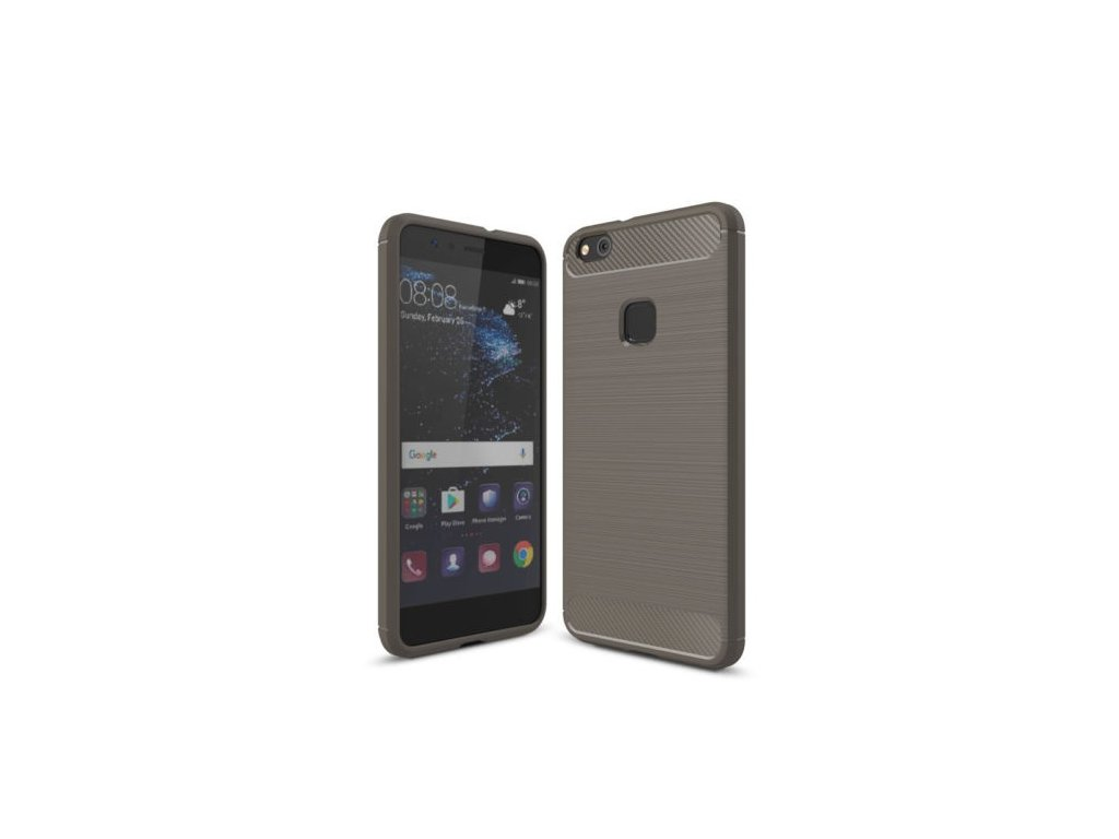 Silikónový kryt (obal) pre Huawei P10 Lite - grey (šedý)
