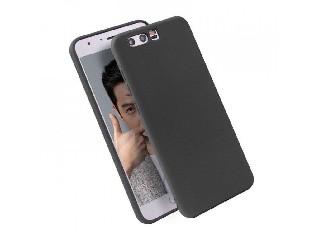 Silikónový kryt (obal) pre Huawei Honor 9 - black (čierny)