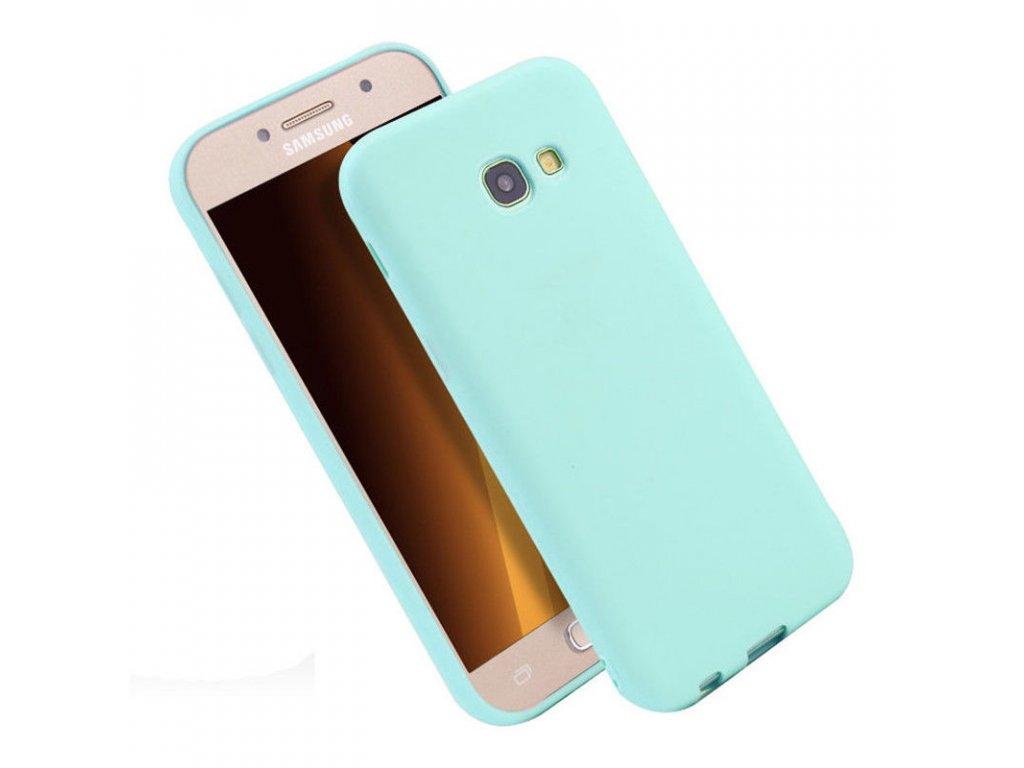 Silikónový kryt (obal) pre Samsung Galaxy J5 2017 (J530F) - tyrkysový