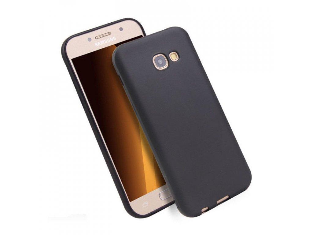 Silikónový obal na Samsung Galaxy J3 2017 čierny