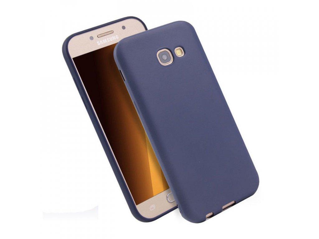 Silikónový kryt (obal) pre Samsung Galaxy J3 2017 (J330F) - modrý