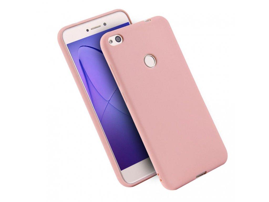 Silikónový kryt (obal) pre Huawei P9 Lite 2017 - ružový