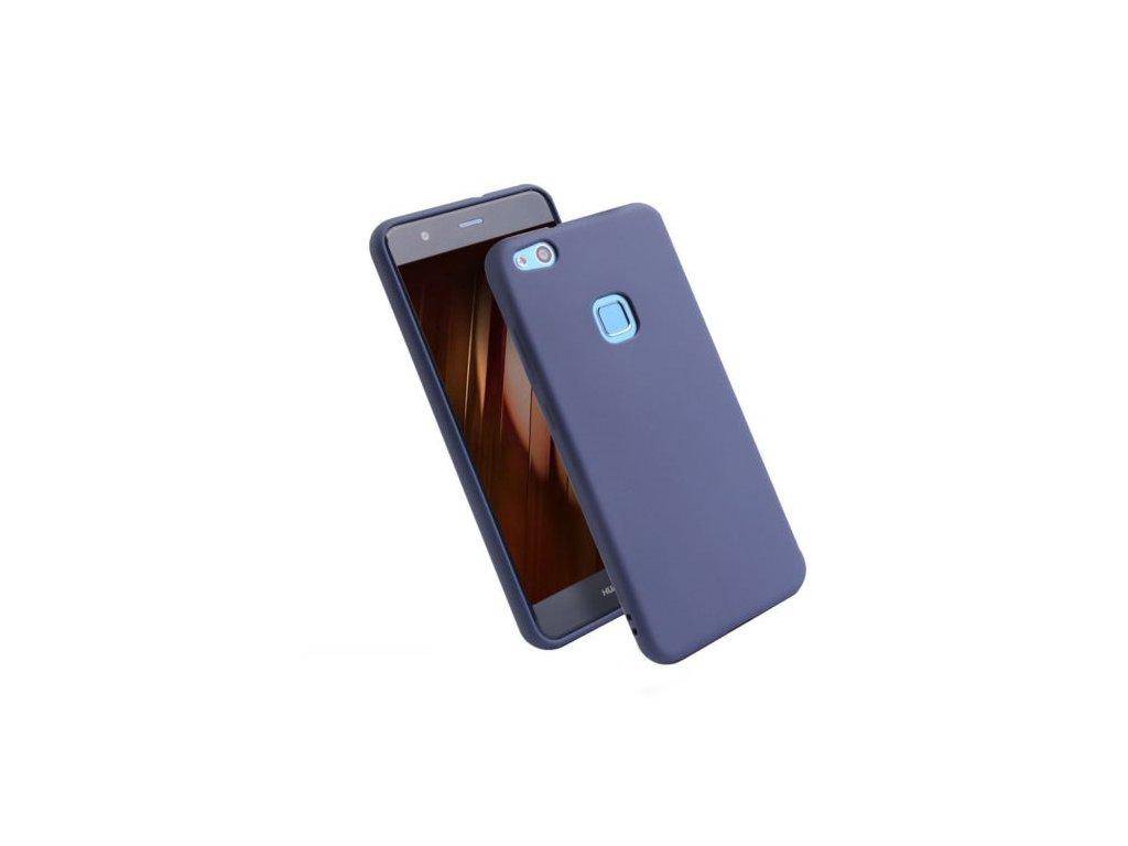 Silikónový kryt (obal) pre Huawei P10 Lite - tm. modrý