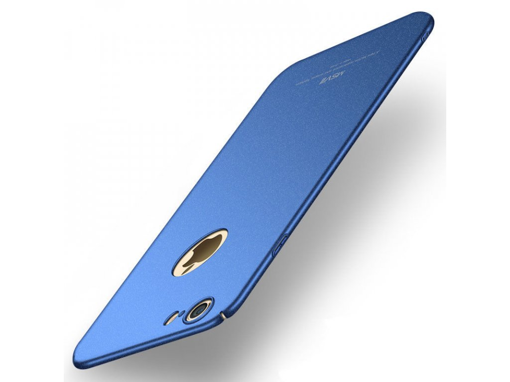 Plastový kryt pre iPhone 6/6S - matte blue