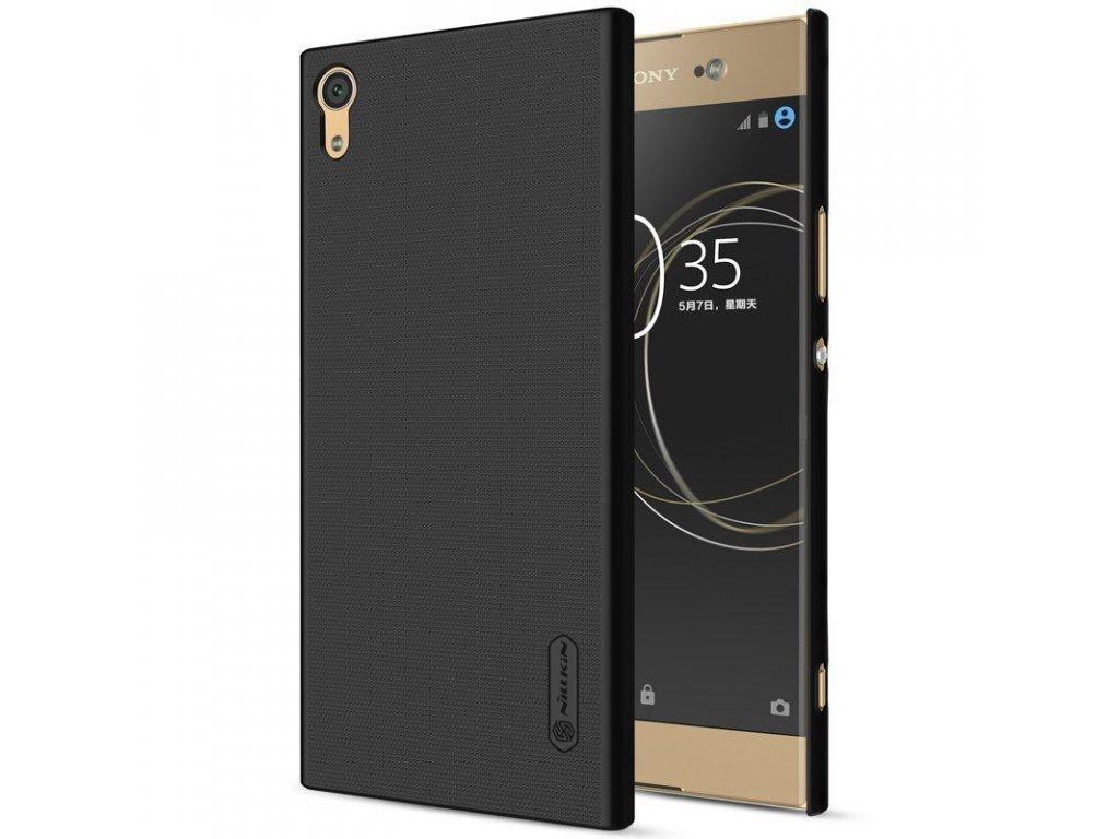 Plastový Nillkin kryt (obal) pre Sony Xperia XA1 - black (čierny)