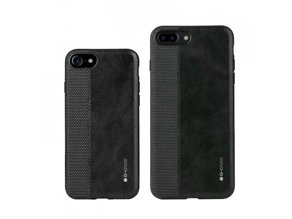 G-CASE kryt (obal) pre iPhone X - black (čierny)
