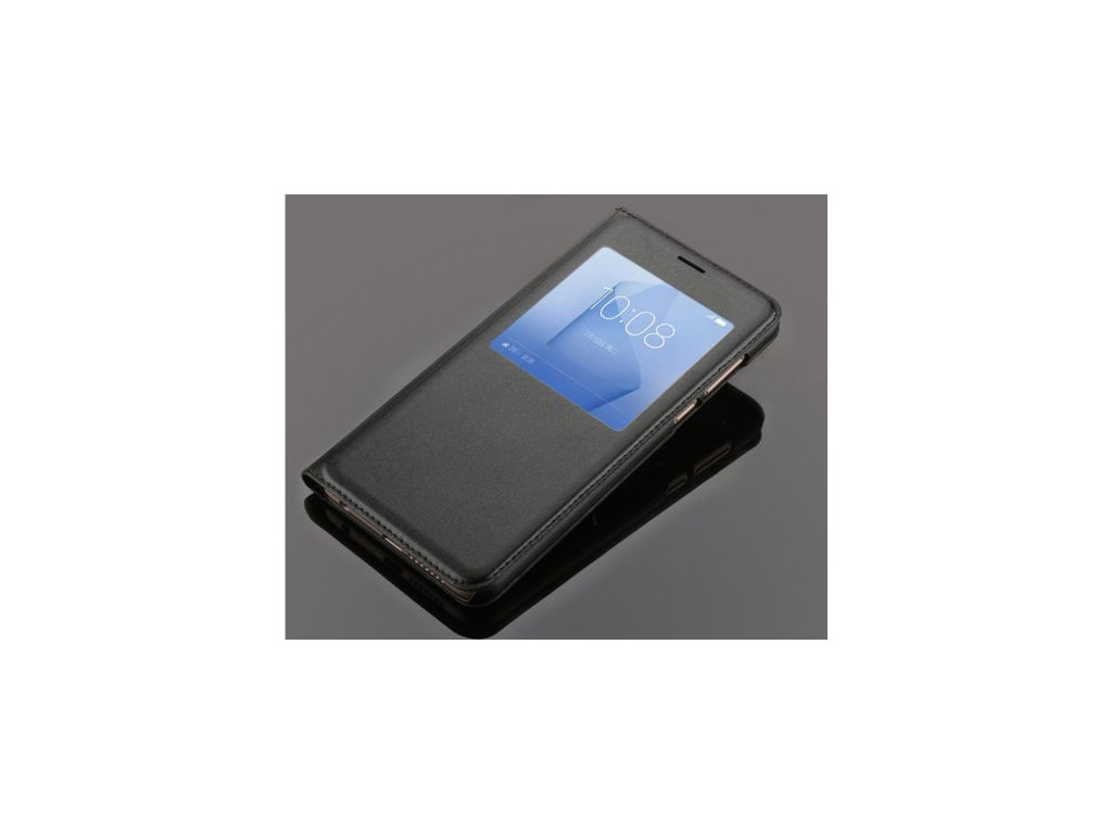 Flip Case (puzdro) pre Honor 8 - čierne (black)