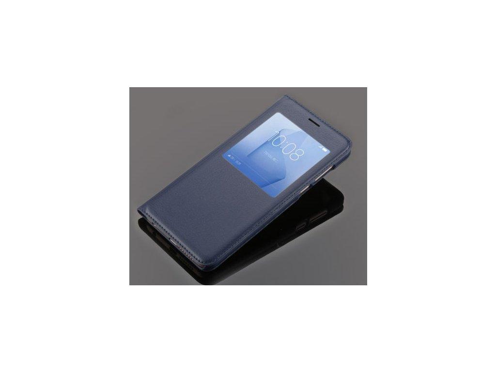 Flip Case (puzdro) pre Honor 8 - modré (blue)