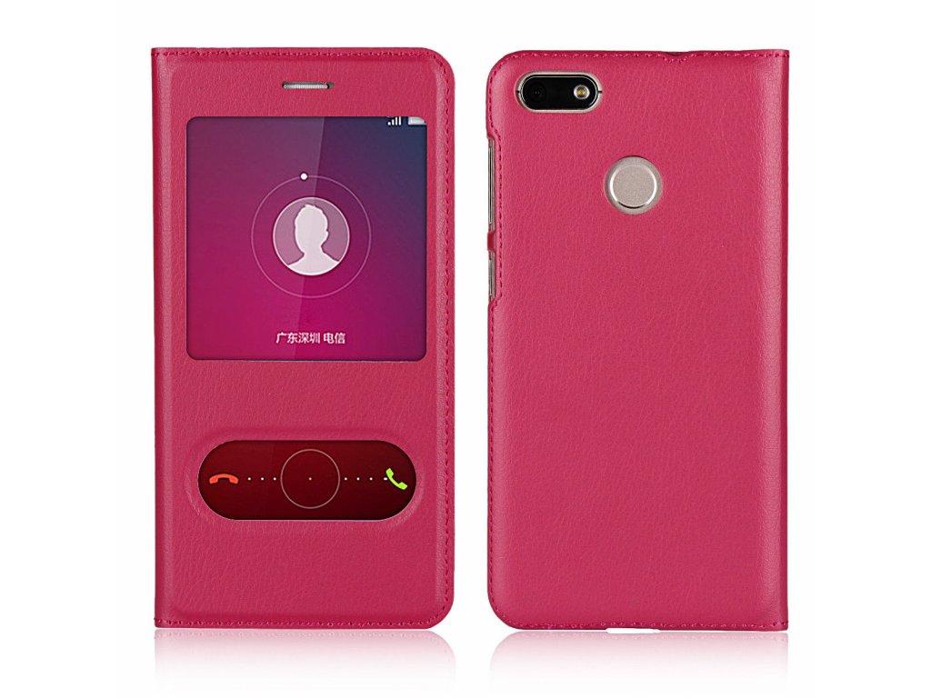 Flip Case (puzdro) pre Huawei P10 Lite - rose (ružové)
