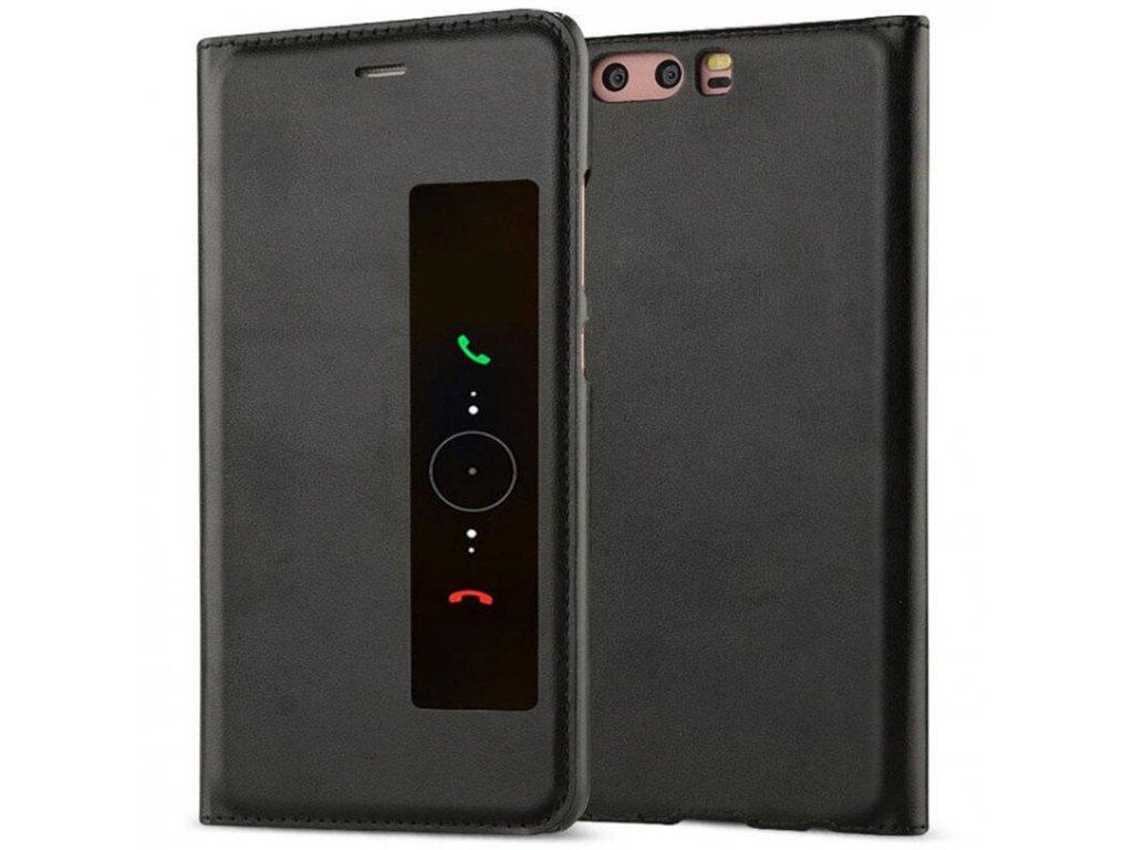 Flip Case (puzdro) pre Huawei P10+ (PLUS) - čierne
