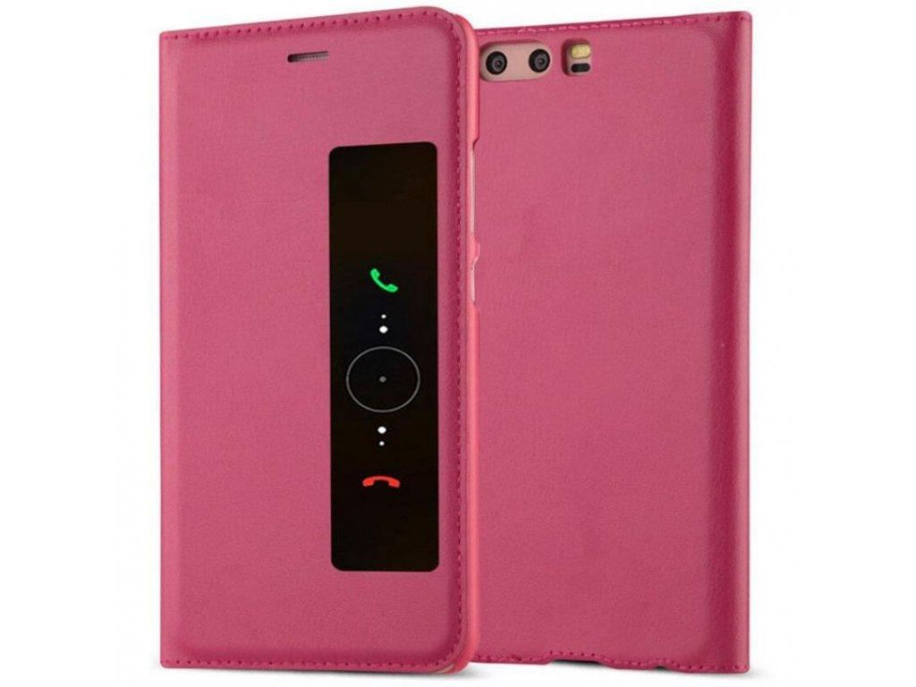 Flip Case (puzdro) pre Huawei P10+ (PLUS) - ružové