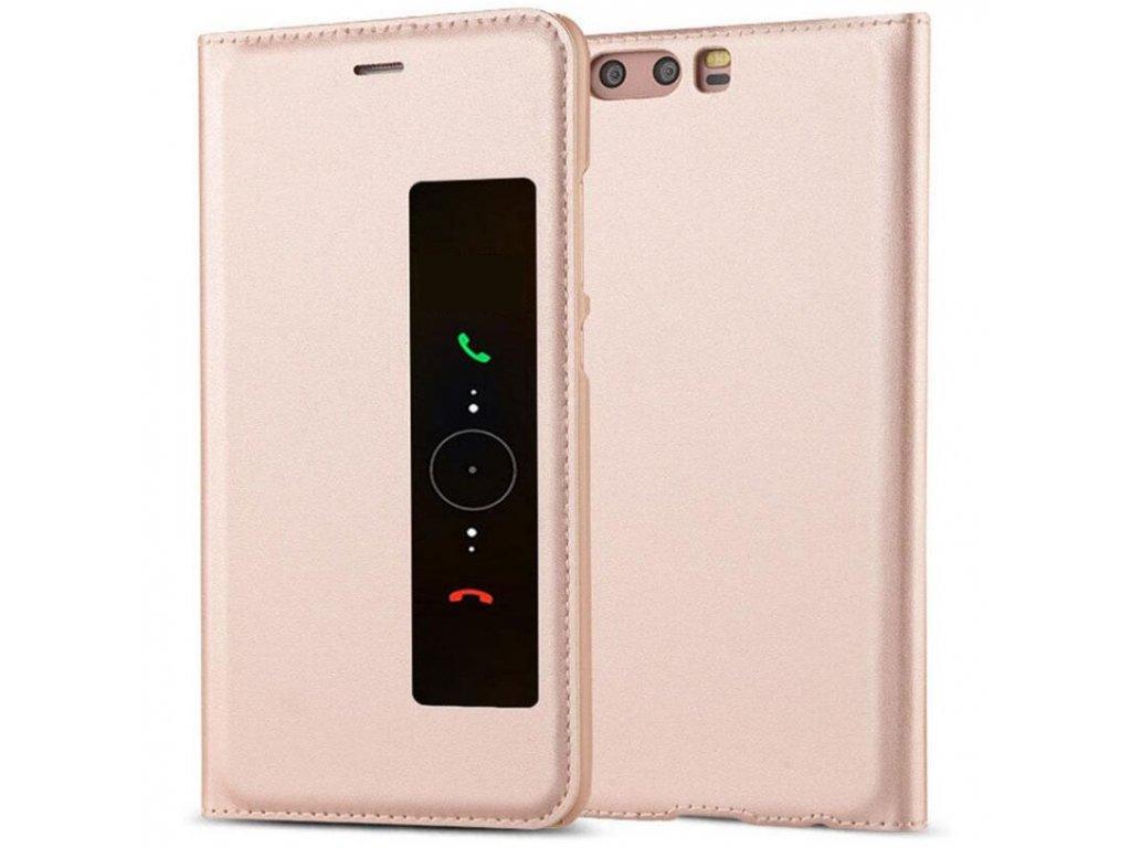 Flip Case (puzdro) pre Huawei P10+ (PLUS) - rose gold
