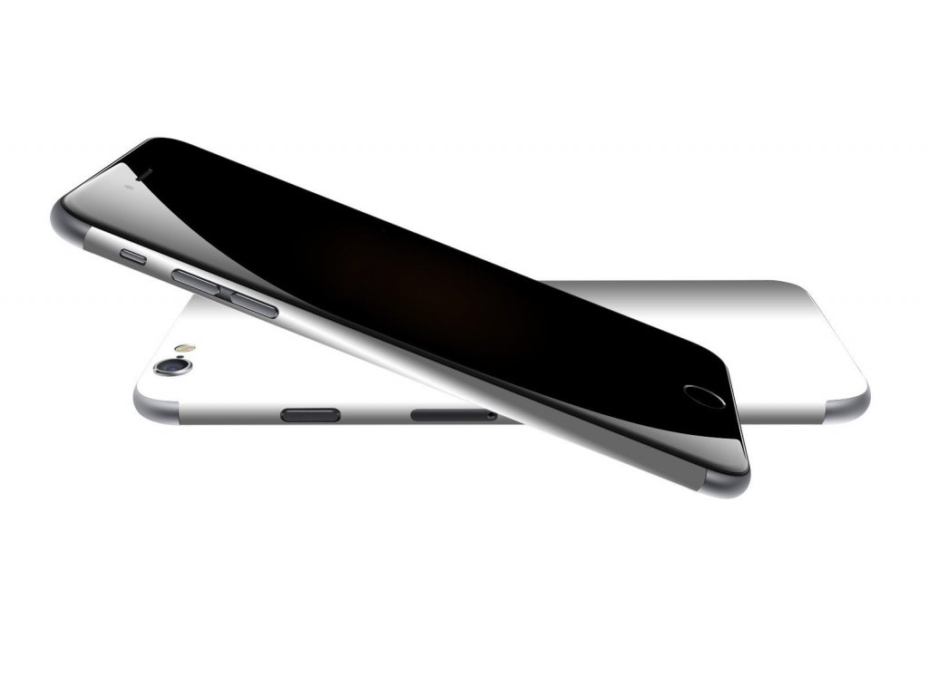 Dizajnová wrap fólia pre Iphone 6S - biela