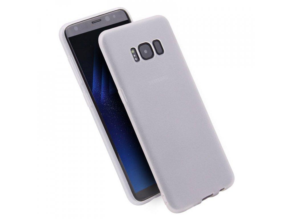 Silikónový kryt (obal) pre Samsung Galaxy J5 2016 (J510F) - matný biely