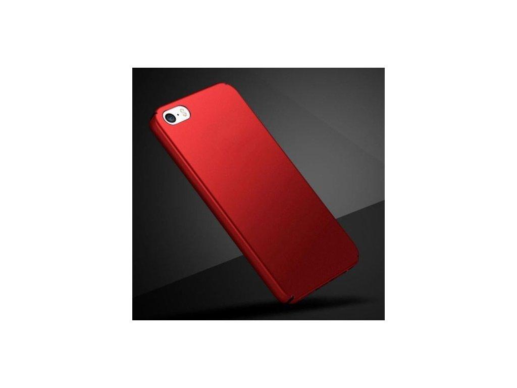 Plastový kryt (obal) pre Iphone 4/4S - červený