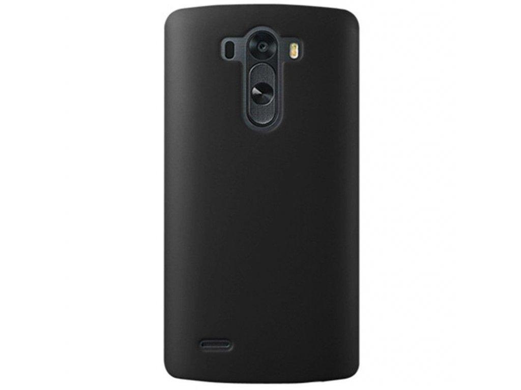 Plastový kryt (obal) pre LG G3 - čierny