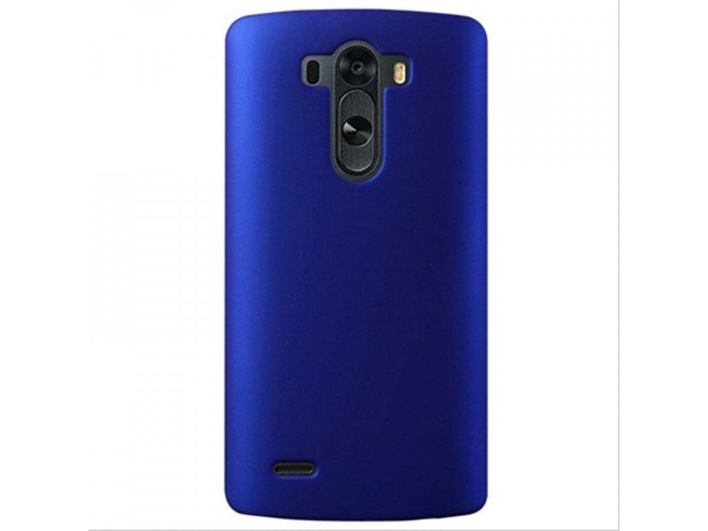Plastový kryt (obal) pre LG G3 - modrý