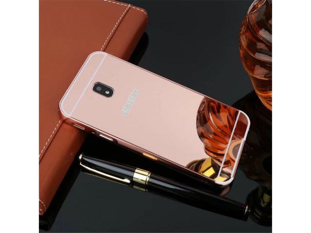 Hliníkový kryt (obal) pre Samsung Galaxy J3 2017 (J330F) - rose gold