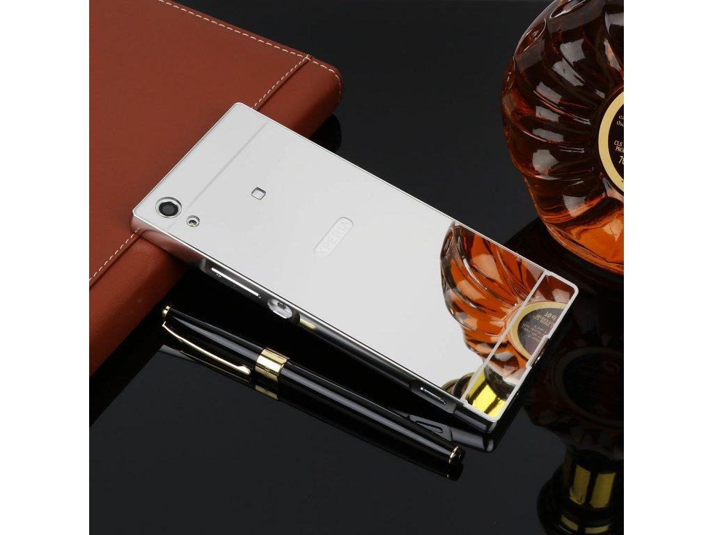 Hliníkový kryt (obal) pre Sony Xperia XA1 - strieborný  b211e7192da