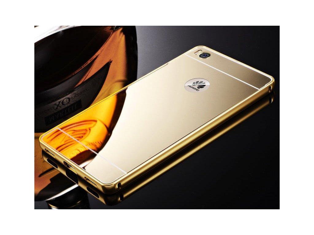 Hliníkový kryt (obal) pre Huawei P10 Lite - zlatý