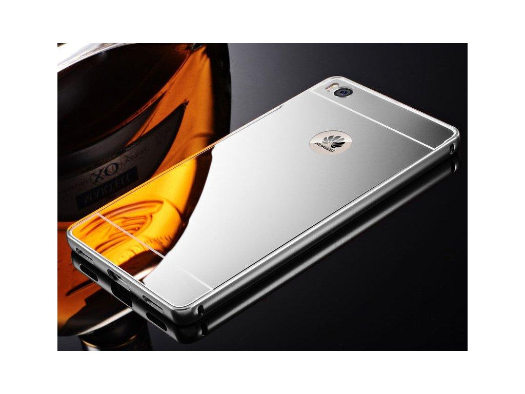 Hliníkový kryt (obal) pre Huawei P9 Lite - strieborný