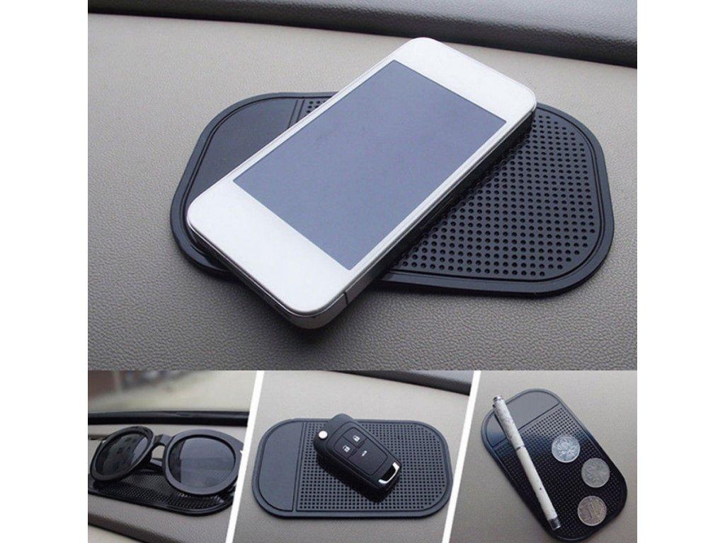 Magnetická podložka na mobil do auta