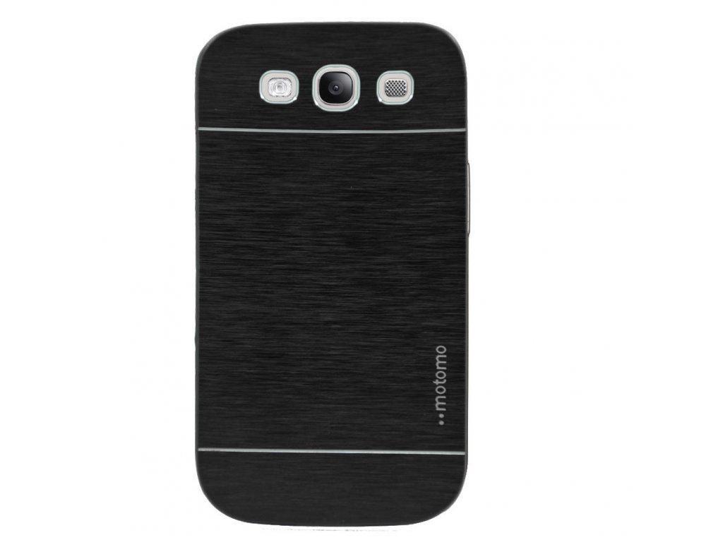 Hliníkový kryt (obal) pre Samsung Galaxy S4 (i9505) - čierny